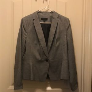 Worthington black and white print size 14 blazer.